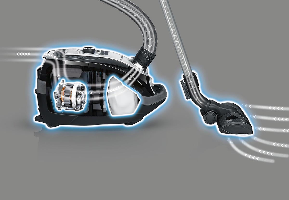 Siemens VSQ8 Turbo Animal AutoControl Ηλεκτρική Σκούπα